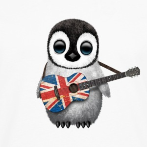 British Guitar Penguin T-Shirts - Men's Premium Long Sleeve T-Shirt