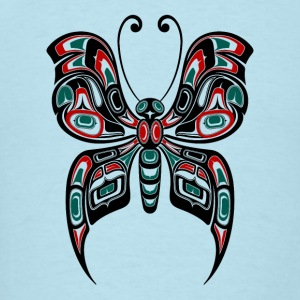Red Green Haida Butterfly Baby & Toddler Shirts - Men's T-Shirt
