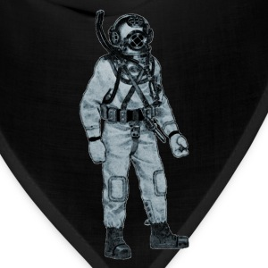 Mark V Navy Diver with Diving Helmet - Bandana