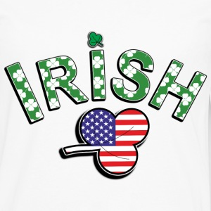 Irish American. - Men's Premium Long Sleeve T-Shirt