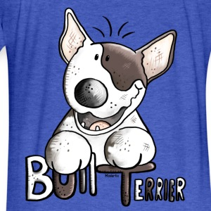 Funny Bull Terrier Sweatshirts - Fitted Cotton/Poly T-Shirt by Next Level