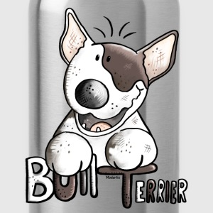 Funny Bull Terrier Sweatshirts - Water Bottle