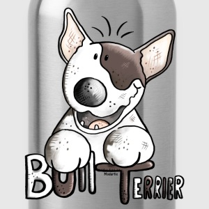 Funny Bull Terrier Long Sleeve Shirts - Water Bottle