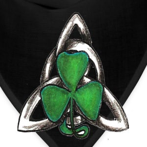 Celtic knot with shamrock - Bandana