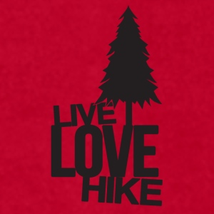 Live Love Hike | Hiking Mugs & Drinkware - Men's T-Shirt by American Apparel