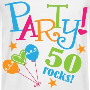 50th Birthday Party 50 years Women's T-Shirts - Men's Long Sleeve T-Shirt