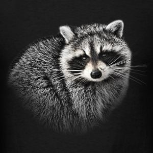 Raccoon. - Men's T-Shirt
