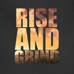 rise and grind T-Shirts - Adjustable Apron