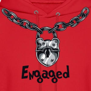 Engaged Engagement Announcement Engagement Party - Men's Hoodie