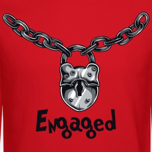 Engaged Engagement Announcement Engagement Party - Crewneck Sweatshirt