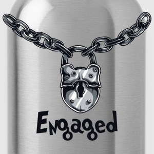 Engaged Engagement Announcement Engagement Party - Water Bottle