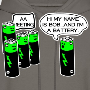 Aa battery meeting - Men's Hoodie