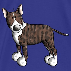 Cute Bull Terrier Bags & backpacks - Men's Premium T-Shirt