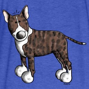 Cute Bull Terrier Sweatshirts - Fitted Cotton/Poly T-Shirt by Next Level