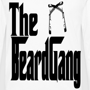 beardgang T-Shirts - Men's Premium Long Sleeve T-Shirt