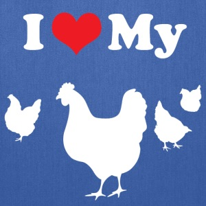 I Love My Chickens T-Shirts - Tote Bag