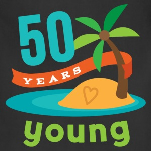 50th Birthday Tropical Island T-Shirts - Adjustable Apron