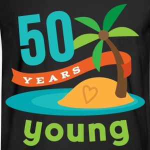50th Birthday Tropical Island T-Shirts - Men's Long Sleeve T-Shirt