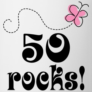 50th Birthday 50 Rocks Women's T-Shirts - Coffee/Tea Mug