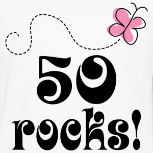 50th Birthday 50 Rocks Women's T-Shirts - Men's Premium Long Sleeve T-Shirt