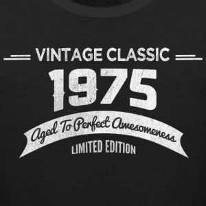 Birthday 1975 Vintage Classic Aged To Perfection - Men's Premium Tank