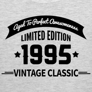 Birthday 1995 Vintage Classic Aged To Perfection - Men's Premium Tank