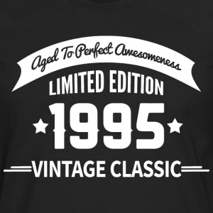 Birthday 1995 Vintage Classic Aged To Perfection - Men's Premium Long Sleeve T-Shirt