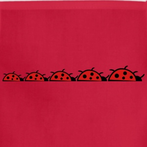 Heart Clover Lucky charms Lucky Ladybug T-Shirts - Adjustable Apron