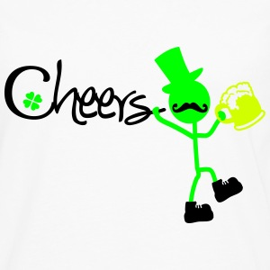 Cheers st.Patrick's day Women's T-Shirt - Men's Premium Long Sleeve T-Shirt