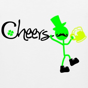 Cheers st.Patrick's day Women's T-Shirt - Men's Premium Tank