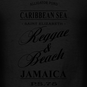 Jamaica - Reggae & Beach Long Sleeve Shirts - Men's T-Shirt