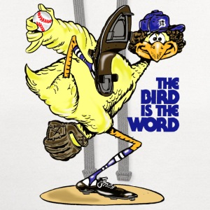 The Bird is the Word T-Shirts - Contrast Hoodie