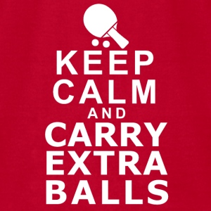 KEEP CALM AND CARRY EXTRA BALLS Baby & Toddler Shirts - Men's T-Shirt by American Apparel