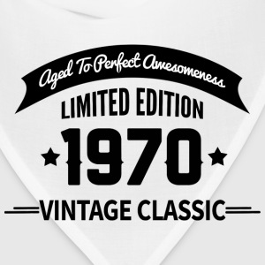Birthday 1970 Vintage Classic Aged To Perfection - Bandana