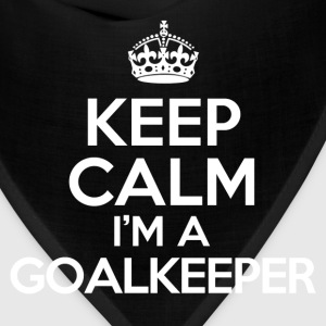 keep calm im a goalkeeper Kids' Shirts - Bandana