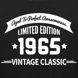 Birthday 1965 Vintage Classic Aged To Perfection - Men's Premium Tank