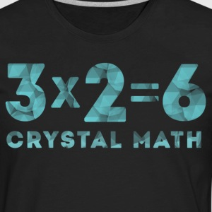 Crystal Math T-Shirts - Men's Premium Long Sleeve T-Shirt