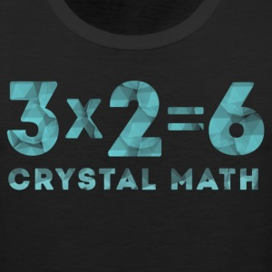 Crystal Math T-Shirts - Men's Premium Tank