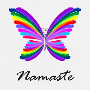 Namaste butterly - Men's Premium T-Shirt