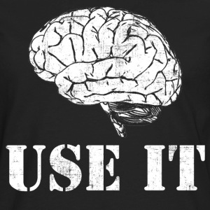Brain Use It T-Shirts - Men's Premium Long Sleeve T-Shirt