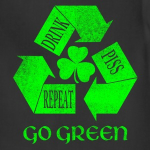 Drink Piss Repeat Go Green Tees - Adjustable Apron