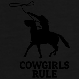 Cowgirls rule Mugs & Drinkware - Men's Premium T-Shirt