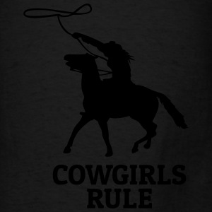 Cowgirls rule Bags & backpacks - Men's T-Shirt