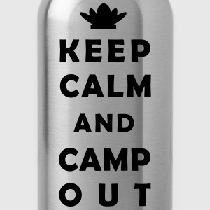 keep calm camping Hoodies - Water Bottle