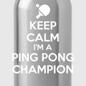 Keep Calm Ping Pong T-Shirts - Water Bottle