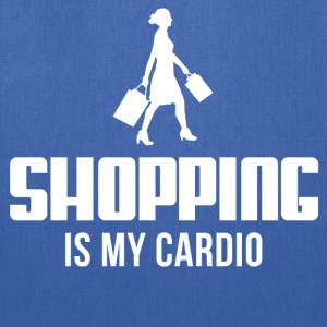 Shopping Is My Cardio Women's T-Shirts - Tote Bag