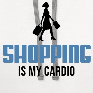Shopping Is My Cardio Women's T-Shirts - Contrast Hoodie