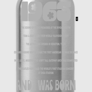 1965 Birthday - Water Bottle