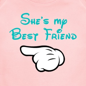 My BFF Mickey hand pointing right Kid's T-shirt - Short Sleeve Baby Bodysuit