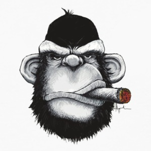 Smoking Ape - Men's Premium Long Sleeve T-Shirt